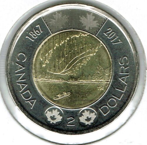 2017 Canadian Brilliant Uncirculated Commemorative Dance Canada Two Dollar Coin!