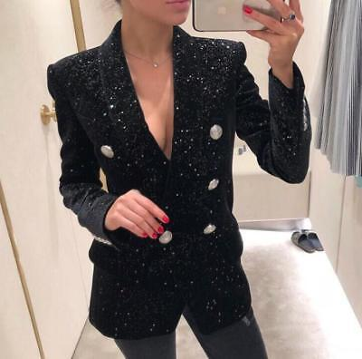New year christmas gift wholesale runway Pocket Lapel neck Women's Suits Blazer - Wholesale Womens Suits