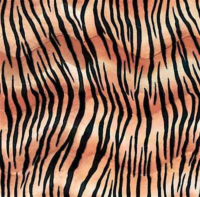 Wild Tiger Stripe Animal Gift Wrap Tissue Paper 10 Printed, Patterned Sheets