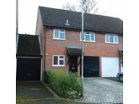 Lovely 3 double bedroom house located in Lipscombe Close, Newbury, Berkshire - Available 1st Nov