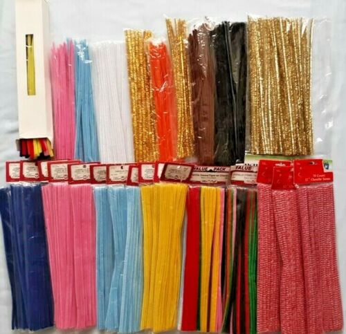 Straight Chenille Stems Craft Box - KEEP THE KIDS BUSY!!