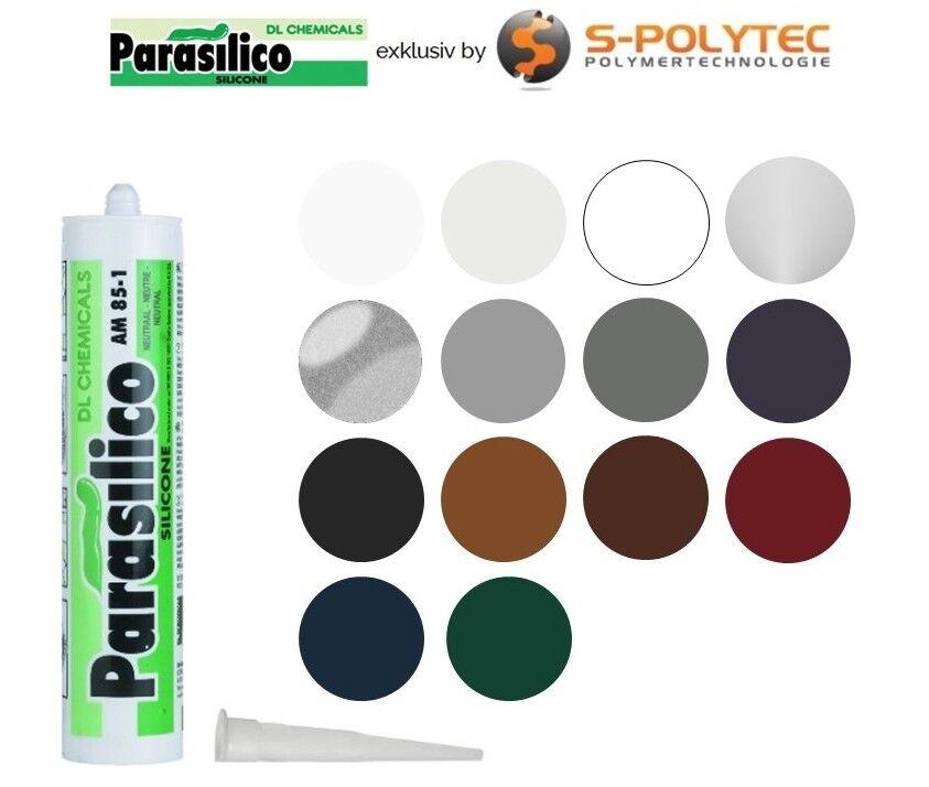 Profi Silikon Parasilico 310ml Kartusche Dichtstoff Sanitär Naturstein Marmor