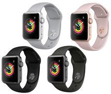 New Apple Watch Series 3 42mm Smartwatch GPS Aluminum Case Sport Band