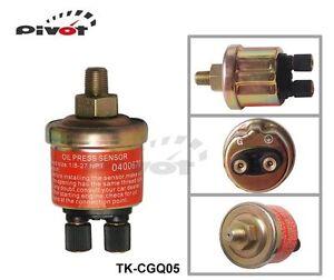Oil Pressure Electronic Sensor/Sender Replacement Universal Fit Gauge 1/8