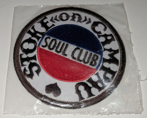 """SOUL CLUB Stoke On Campau EMBROIDERED PATCH Round 3"""" - NEW in package"""