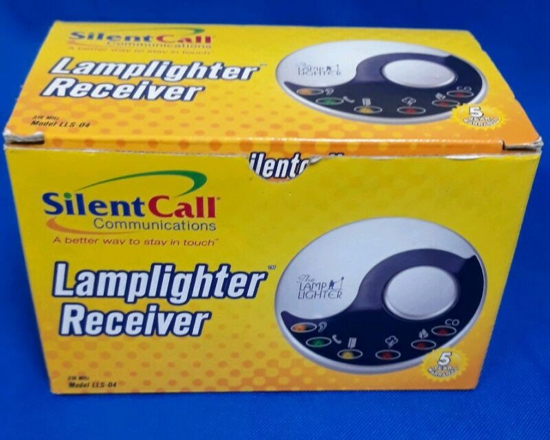 Silent Call Communications Lamplighter Receiver Model LLS-04