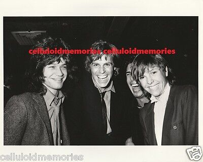 Original Photo Eddie Van Halen Jeff Conaway Kristy McNichol 2-10-82