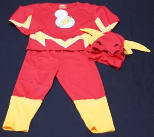 XMAS-Christmas-Gift-The-Flash-Hero-Outfit-Boys-Kids-Party-Costume-Present-2-7Y