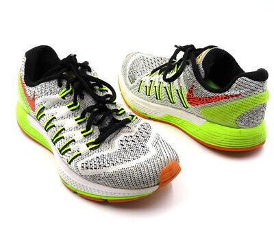NIKE AIR ZOOM ODYSSEY Size 8 Yellow White Running Sneaker Trainer Womens