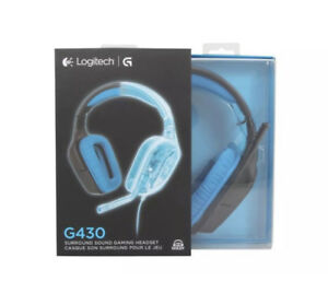 BNIB - Logitech G430 7.1 Surround Sound Gaming Headset