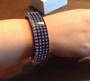 SWAROVSKI Crystal & Resin Cuff Bangle bracelet