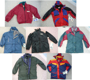 Brand New Youth Jackets - Various Styles, Colours, & Sizes