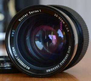 Vivitar Series 1:  35mm-85mm f2.8 Canon FD or Sony