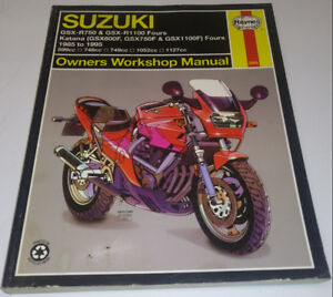 1985-95 SUZUKI GSX Bike HAYNES Workshop Manual