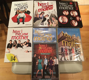 DVD  HOW I MET YOUR MOTHER COMPLETE SERIE 7 SEASONS