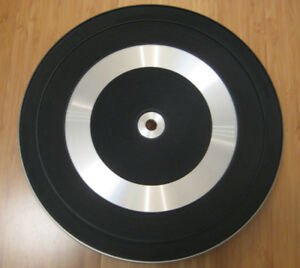 Dual 1214 Turntable Platter with Rubber mat