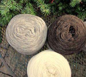 White Buffalo wool for Cowichan sweaters