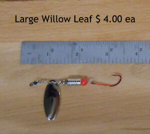 Fishing Spinners - Willow Leaf and Drift