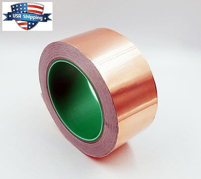 Copper Foil Tape - 2in X 28yds 25m - Emi Conductive Adhesive