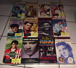 Elvis Presley 20 VHS Movie Lot ~ 12 NEW/SEALED & 8 OPEN