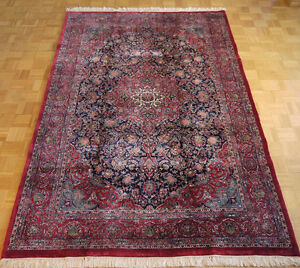 16051-Indian Sarough Hand-Knotted/Handmade Indian Rug/Carpet Tra
