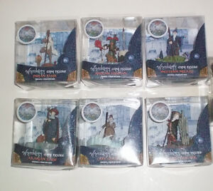 Wizardology Set of Six Mini Resin Figures with Bases