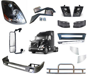 Volvo VNL Truck Body Parts - Bumpers, Ends, Grilles, Headlights,