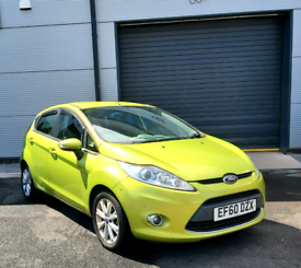 Ford Fiesta Zetec 1.6tdci 5 door Lime Green £20 a year road tax