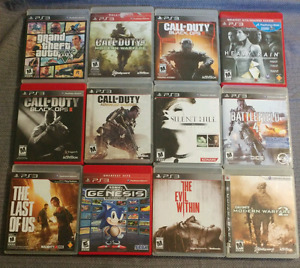 PS3 GAMES ADULT OWNED EXCELLENT CONDITION