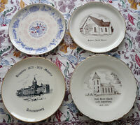 Four Collectors Plates