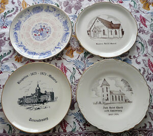 Four Collectors Plates Kingston Kingston Area image 1
