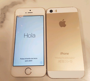 iPhone 5S 16GB on Bell or Telus