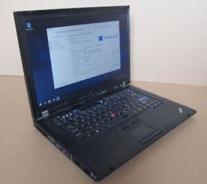 Lenovo R61 ThinkPad laptop with activated W10