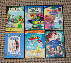 Set of Children's DVDs