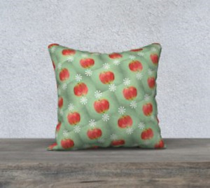 Halloween Bobbing Apples Pillow by Vitalsole