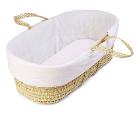 Baby Moses basket £9.99