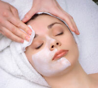 Facials, microdermabrasion, waxing for women's only