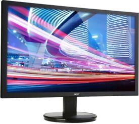 Acer K222HQLbd 22 Inch led Full HD Monitor, Black not hdmi