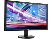 Acer K222HQLbd 22 Inch led Full HD Monitor, Black not hdmi