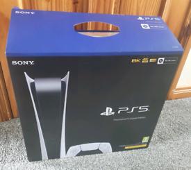PS5 DIGITAL EDITION - USED