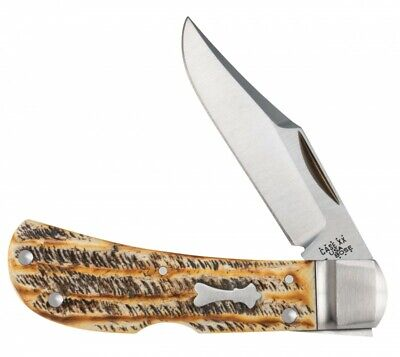 Case xx Tony Bose Lanny's Clip Lockback Knife Bone Stag 154-CM 8835