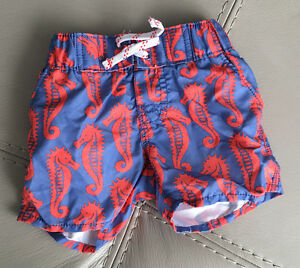 several sizes bathing suits for boys