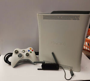 Xbox 360 - 250GB with one controller and wireless adapter