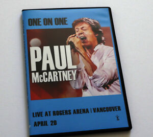 Beatles DVD Paul McCartney DVD Live in Vancouver Rogers Arena