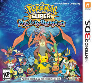 MINT CONDITION - POKÉMON SUPER MYSTERY DUNGEON FOR 3DS