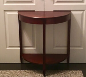 Half moon table for sale