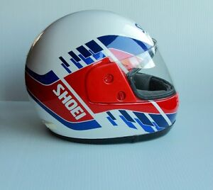70s 80s SHOEI MOTORCYCLE HELMET CORSA SNELL M85 DOT SIZE X LARGE