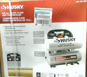 Compressor - Air Compressor Husky 4.6 Gallon