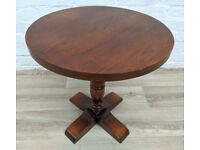 Solid Oak Side Table (DELIVERY AVAILABLE)