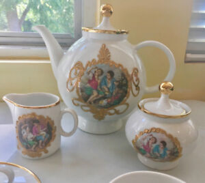 Vintage Bareuther Waldassen Tea Set for 12